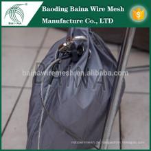Handgewebter Edelstahl-Mesh-Beutel / Metall-Mesh-Tasche aus Porzellan