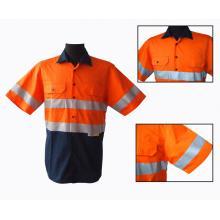 австралийская рубашка повышенной видимости для наружной работы