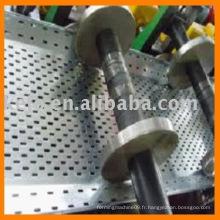 Plateau de câble Machine à former des rouleaux avec poinçon
