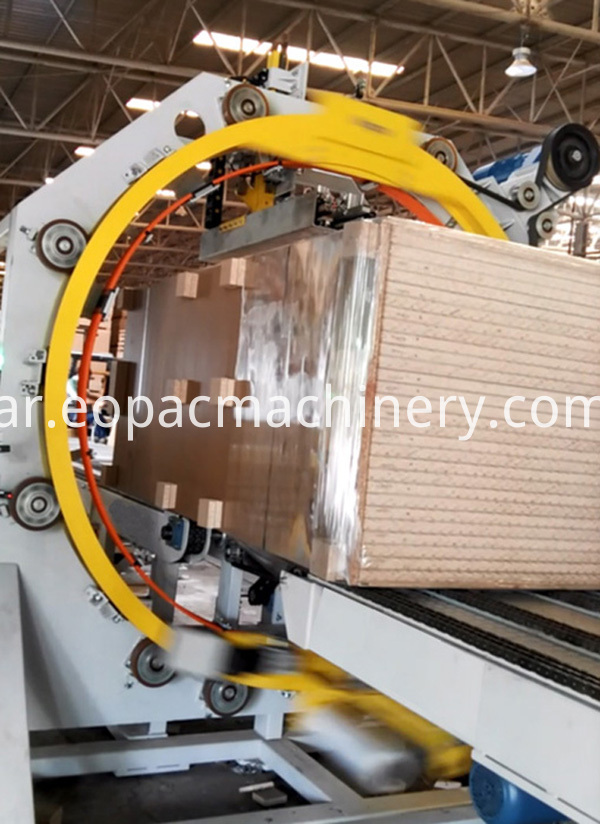 Sheet Wrapping Machine