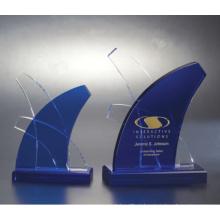 K9 Cristal De Vidro De Troféu De Alta Qualidade