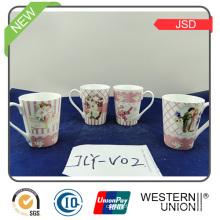 150ml Keramik Kaffeetasse mit Halter für Geschenk