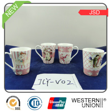 Tasse en céramique de 150ml avec le support pour le cadeau