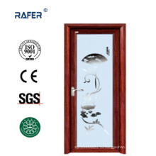 Алюминиевые стеклянные распашные двери (РА-G115)