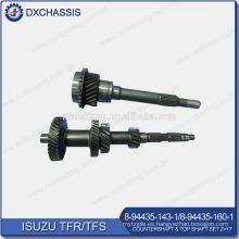 Conjunto de eje superior y contraflecha TFR / TFS genuino Z = 17 8-94435-143-1,8-94435-160-1