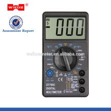 Digital Multimeter DT700C with Large Screen Temperature Test