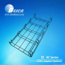Telecom wire mesh basket cable tray weight/cable channel
