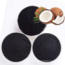 Alta qualidade Casca de coco natural em pó carvão ativado em pó para descoloração de Açúcar