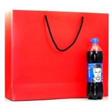 Kleidungsstück Rotbraune Papiertüte, tragbare Geschenk-Tragetaschen