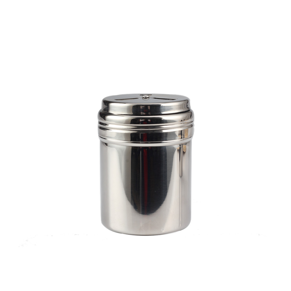 Stainless Steel Seasoning Bottle Salt Pepper Shaker