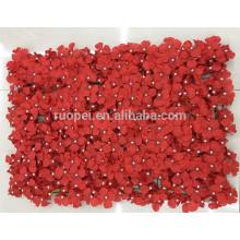 estera de pared de flores artificiales al por mayor para la decoración de la boda