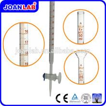 JOAN Glass Burette Com Vidro Straight Stopcock