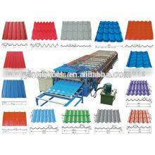 Flat sheet leveling slitting and cutting roll forming machine