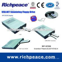 Unidade de disco rígido para unidade flash USB para computador com tamanho normal