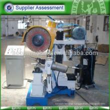Polishing machine for steel utensil tableware