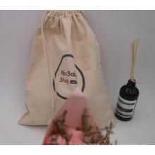 sac à cordon en toile sacs d'emballage en coton