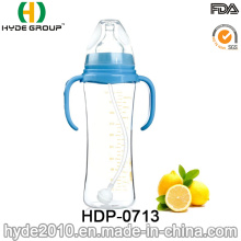 BPA Free Silicone Nipple PP Plastic Baby Feeding Bottle (HDP-0713)
