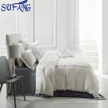 Наньтун оптом 5-звездочный отель поставок постельное белье лист отель постельное белье/вышивка/400TC 100% хлопок