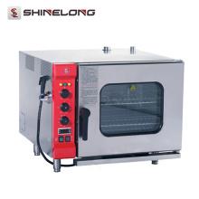 K027 6 Trays Electric Restaurant Baking Equipment Combi Steam Oven
