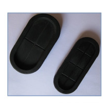 Personalizada Caucho Oblong Grommet Blind