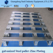 Export Standard Galvanized Container Steel Pallet for Sale