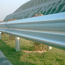 galvanized steel beam highway barrier