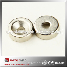 Newest Disk D15x5 mm Magnet with Countersunk Hole #5 Screws