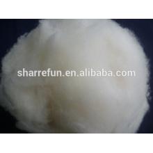 100% reines chinesisches Lammwolle natürliches Weiß withlow Großhandelspreis