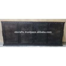 Armoires en métal rétro métallique rétro à carreaux