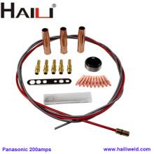 Accesorios de antorcha de soldadura HAILI para Panasonic 200A