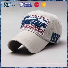 Benutzerdefinierte vier Saison vernünftige Preis Stickerei Baseball Cap