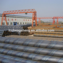 ASTM A134 / ASME SA134 EFW steel pipes with straight seam