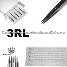 L'acier chirurgical 316L de haute qualité a fait des aiguilles de tatouage de liner de 3R pour le professionnel seulement