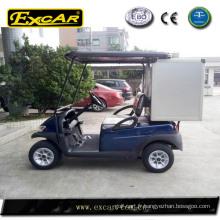 cargaison électrique de voiture de golf, mini boîte de cargaison, boîte de stockage bon marché pour la voiture de golf