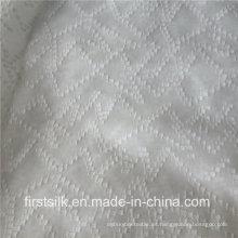 Tejido tejido de algodón de seda