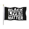 Benutzerdefinierte Polyester Black Lives Matter Flag