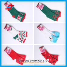 New year Christmas socks cozy mircofiber home towel socks