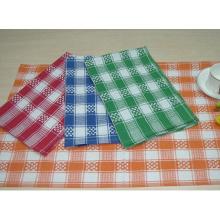 (BC-KT1013) Toalha de limpeza Stripe Grid Toalha de cozinha de design de moda