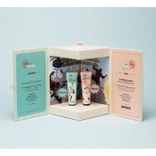 Boîte d'emballage de parfum d'huile de parfum à fermeture magnétique personnalisée