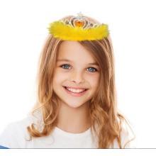 Cheap Plastic Diamond Tiara for Kids Princess Party Crown