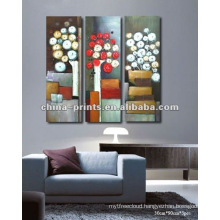 Modern Flower Handmade Oil Painting Hot New Products For 2015