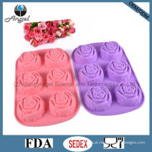 Hot Venda BPA Livre Rosa Silicone Baking Cake Tool Sc41