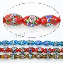 2015 Gets.com бусины для ламп, Lampwork Beads, Oval, больше цветов на выбор
