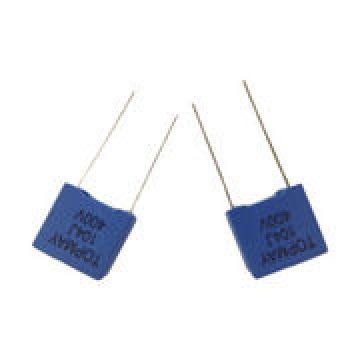 Tipo de caja de condensador de película de poliéster metalizado