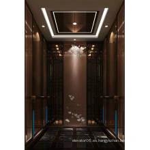 Ascensor para pasajeros Espejo de elevación Grabado Mr & Mrl Aksen Ty-K240