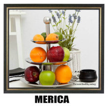 Stainless Steel Three Layers Fruit Tray