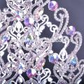 """Gorgeous 30 """"coroa de grande beleza grande representação com ab cristal pageant coroas redondas"""
