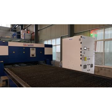 Central Integrated Laser Plasma Cutter Dust Collector