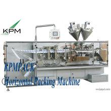 Système horizontal d'équipement d'emballage / machines d'emballage et de cachetage