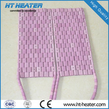 Elemento calefactor de cerámica flexible